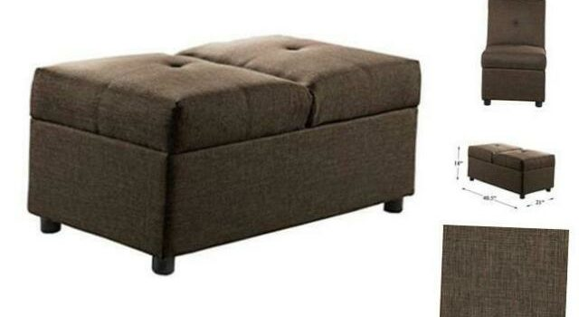 convertible ottoman chair
